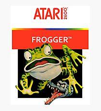 Atari 2600 - Frogger (Transparent)  Photographic Print