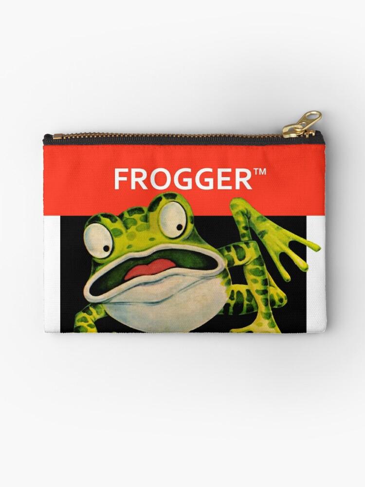 Atari 2600 Frogger Studio Pouch