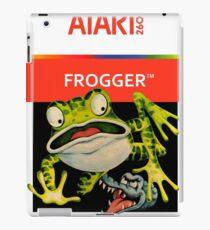Atari 2600 - Frogger (Transparent)  iPad Case/Skin