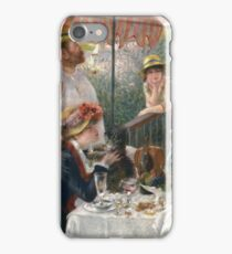 Auguste Renoir - Luncheon Of The Boating Party iPhone Case/Skin