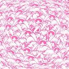 Knutty Pattern Pink by alexknutsonart