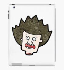 severed head cartoon character iPad Case/Skin