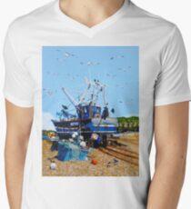 Fresh Fish and Seagulls T-Shirt