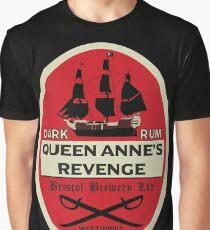 Queen Anne's Revenge Dark Rum Graphic T-Shirt