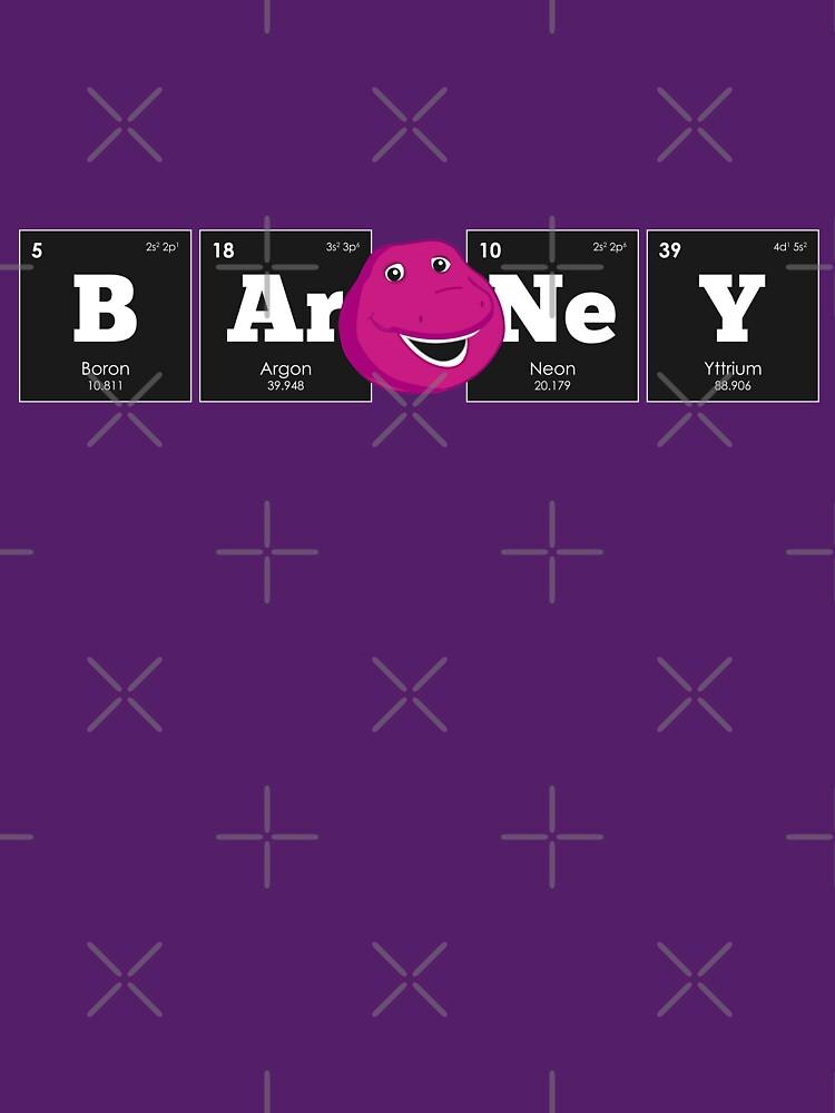 Camisetas entalladas de cuello redondo qumica elementos de la qumica elementos de la tabla peridica barney urtaz Images