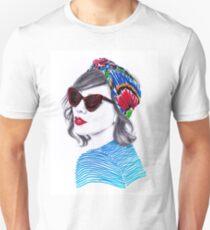 Girl with headscarf Unisex T-Shirt