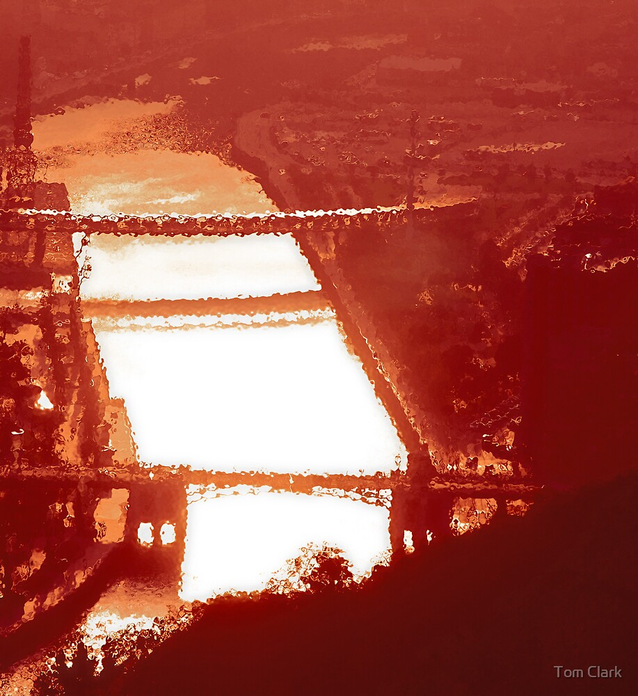Narbion River - Bilbao by Tom Clark