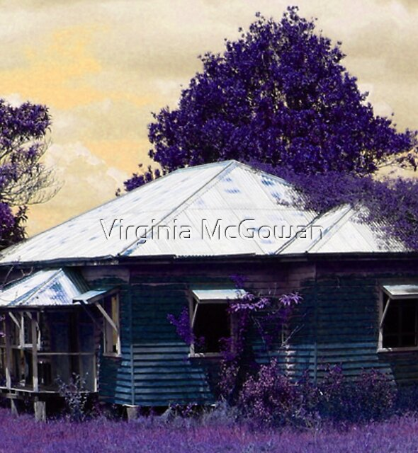 Canungra Farmhouse  by Virginia McGowan