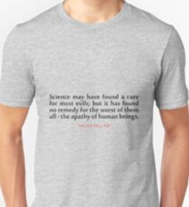"""Science may have...""""Helen Keller"""" Inspirational Quote T-Shirt"""