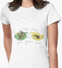 Mary, Mary, How Does Your Garden Grow? Women's Fitted T-Shirt