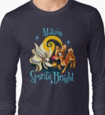Making Spirits Bright Long Sleeve T-Shirt