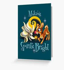 Making Spirits Bright Greeting Card