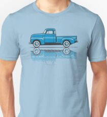 47-54 Chevy Truck light blue T-Shirt