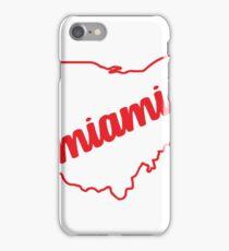 miami ohio iPhone Case/Skin