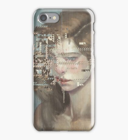 Glitch 03 iPhone Case/Skin