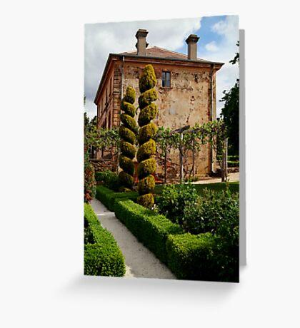 Italian Villa Greeting Card