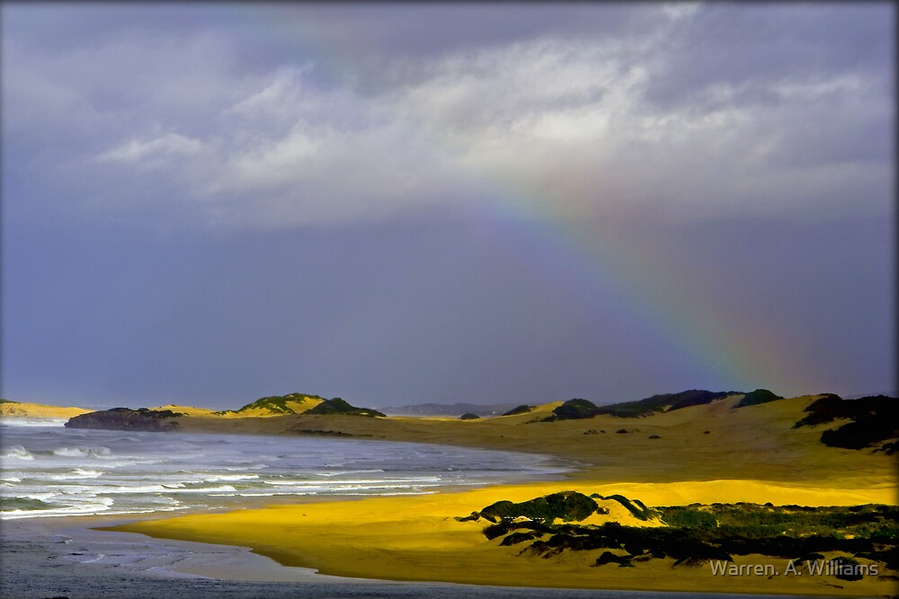Rainbow Bay by Warren. A. Williams