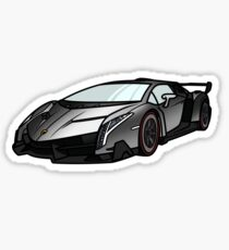 Sportcar #2 Sticker