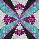 Marble Geometric Background G443 by MEDUSA GraphicART