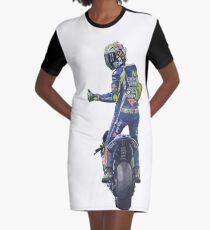 Valentino Rossi, moto gp Graphic T-Shirt Dress
