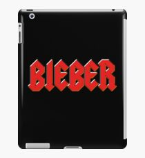 Justin Bieber - Metal Logo iPad Case/Skin