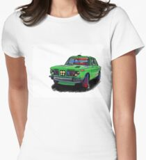 Motor Drive Womens Fitted T-Shirt