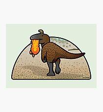 Cryolophosaurus Photographic Print