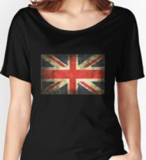 Vintage UK Flag Women's Relaxed Fit T-Shirt