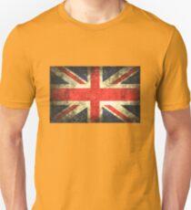 Vintage UK Flag Unisex T-Shirt