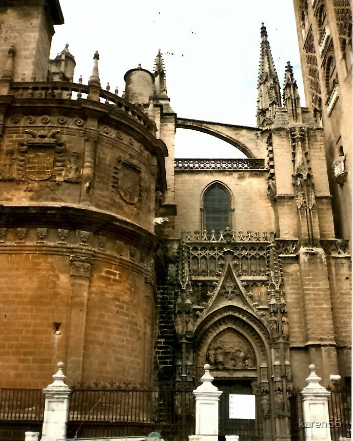 Spain Interesting Cathedral by karen66