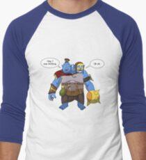 Camiseta ¾ estilo béisbol Ogro Magi