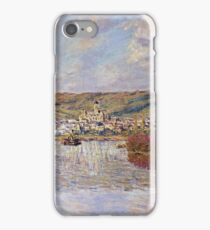 Claude Monet - End Of The Afternoon, Vetheuil iPhone Case/Skin