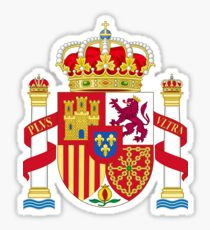 Spain Coat of Arms Sticker