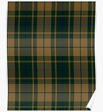 Confederate Infantry Military Tartan  Poster