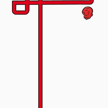 red chump head shape by jonkox