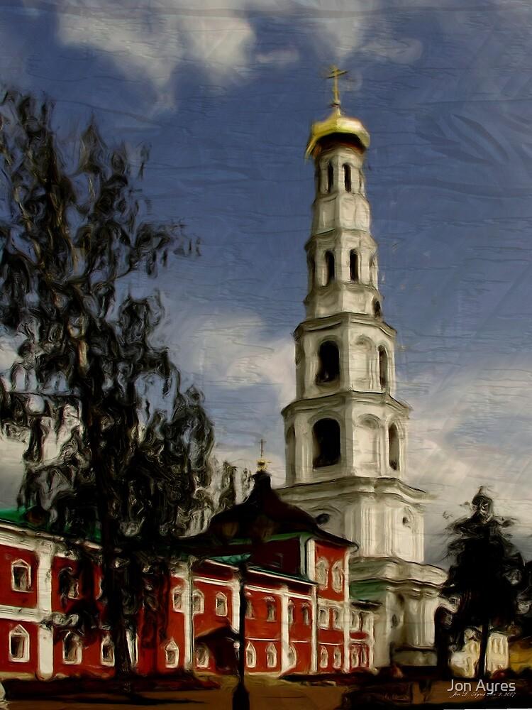Evgeny Khersonsky Church built in 1835-1836 by Jon Ayres