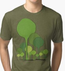 Green palette *quatre saisons series/Spring Tri-blend T-Shirt