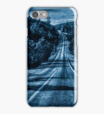 Dark Blue Road Phone Case Wallet Travel Mug iPhone Case/Skin
