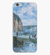 Claude Monet - Cliffs Of Les Petites Dalles iPhone Case