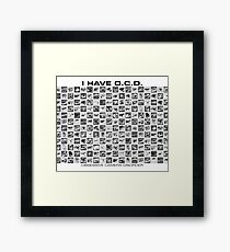 OCD-GS Framed Print