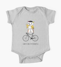 Freddie Meow bicycle One Piece - Short Sleeve