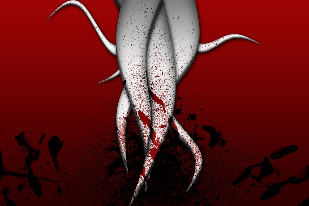 Blood Tenticles by Chrisso