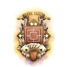 Old School Board Game Crest by AnnimelArt