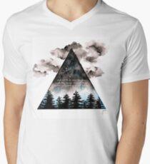 Camiseta para hombre de cuello en v Gloria