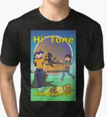 Hi' Tone Book Cover Tri-blend T-Shirt