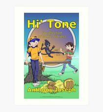 Hi' Tone Book Cover Art Print