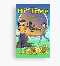 Hi' Tone Book Cover Canvas Print