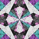 Marble Geometric Background G440 by MEDUSA GraphicART