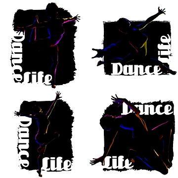 Eight Dancers by Casegrfx