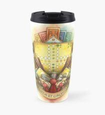 New School Board Game Crest Travel Mug